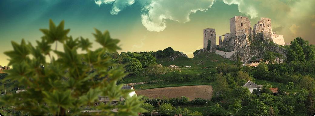 A Cseszneki vár rövid története