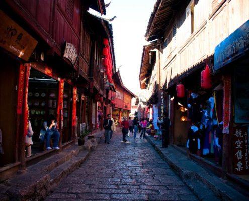 Lijiang utcakép